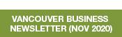 Button Van Business Newsletter Nov2020